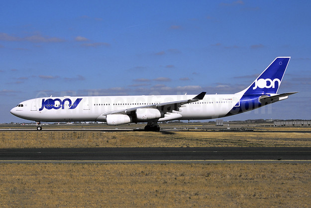 Joon (Air France) Airbus A340-313 F-GLZN (msn 245) CDG (Jacques Guillem Collection). Image: 945737.