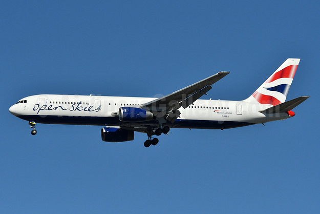 OpenSkies (British Airways) Boeing 767-336 ER F-HILU (msn 24341) JFK (Fred Freketic). Image: 937268.