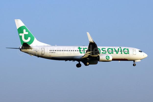 Transavia (France) Boeing 737-800 WL F-HTVI (msn 62164) PMI (Javier Rodriguez). Image: 946600.