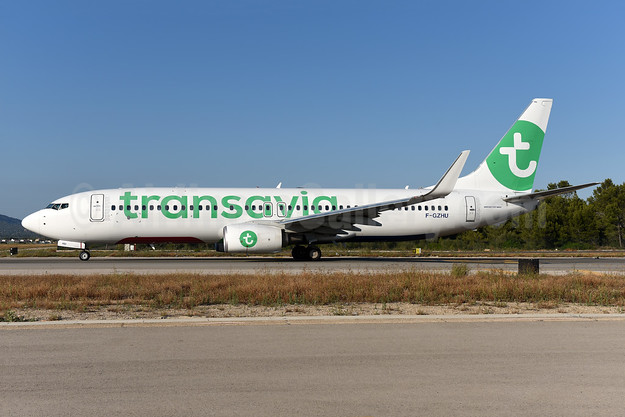 Transavia (France) Boeing 737-8K2 WL F-GZHU (msn 41352) PMI (Ton Jochems). Image: 946601.