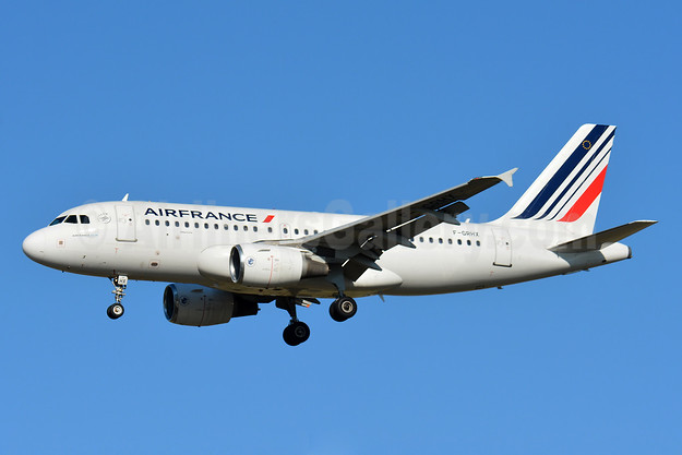 Air France Airbus A319-111 F-GRHX (msn 1524) TLS (Paul Bannwarth). Image: 939753.