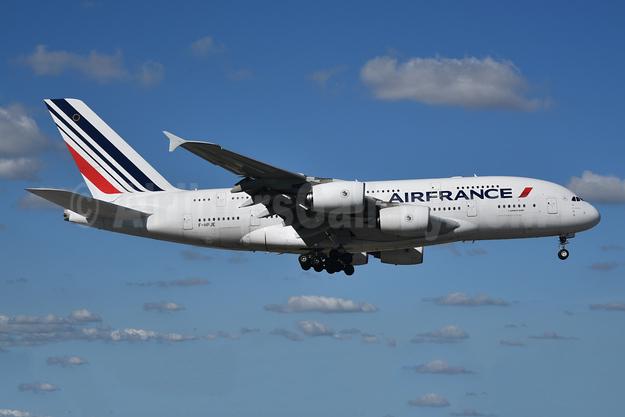 Air France Airbus A380-861 F-HPJE (msn 052) MIA (Bruce Drum). Image: 105408.
