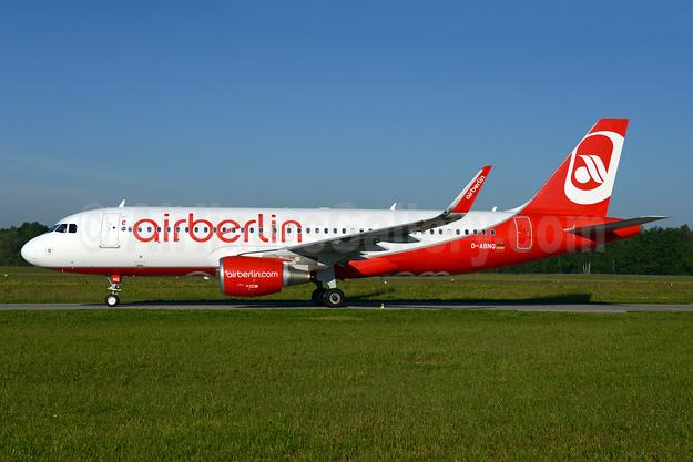 Airberlin (airberlin.com) Airbus A320-214  WL D-ABNQ (msn 6877) ZRH (Rolf Wallner). Image: 933101.