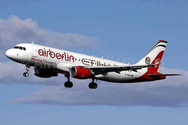 Airberlin (airberlin.com) - Etihad Airways Airbus A320-214 D-ABDU (msn 3516) PMI (Javier Rodriguez). Image: 922052.