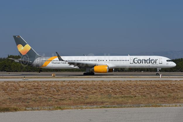 Condor Flugdienst-Thomas Cook Boeing 757-330 WL D-ABOL (msn 29021) AYT (Ton Jochems). Image: 946462.