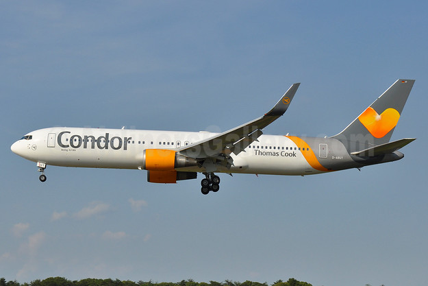 Condor Flugdienst-Thomas Cook Boeing 767-3Q8 ER WL D-ABUT (msn 29383) BWI (Tony Storck). Image: 933499.
