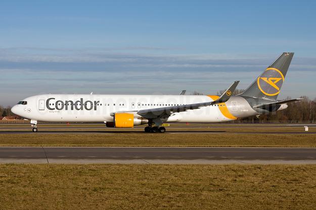 Condor Flugdienst Boeing 767-330 ER WL D-ABUH (msn 26986) MUC (Gunter Mayer). Image: 954850.