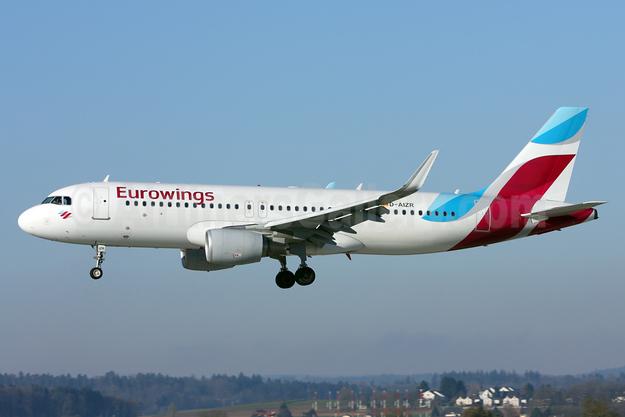 Eurowings Airbus A320-214 WL D-AIZR (msn 5525) ZRH (Andi Hiltl). Image: 927148.