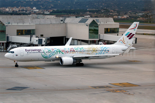 Eurowings creates this unique livery with this wet lease