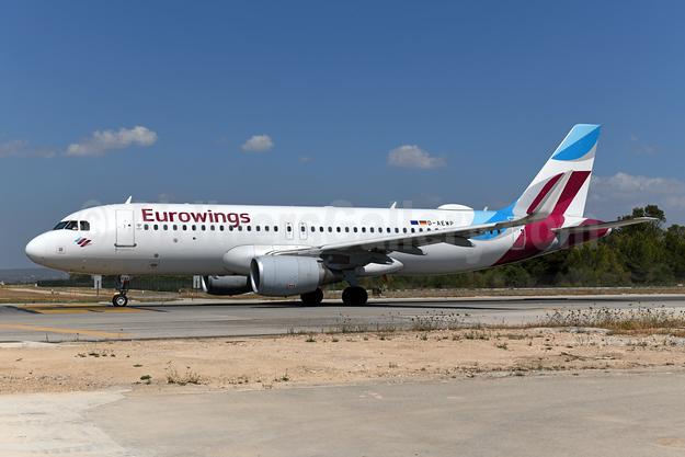 Eurowings Airbus A320-214 WL D-AEWP (msn 7377) PMI (Ton Jochems). Image: 949939.