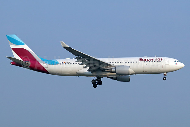 Eurowings Airbus A330-203 D-AXGE (msn 612) BKK (Michael B. Ing). Image: 940570.