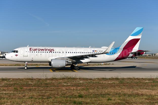 Eurowings Airbus A320-214 WL D-AEWF (msn 7087) PMI (Ton Jochems). Image: 942712.