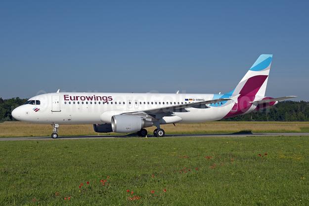 Eurowings Airbus A320-214 D-ABHG (msn 2867) ZRH (Rolf Wallner). Image: 942415.