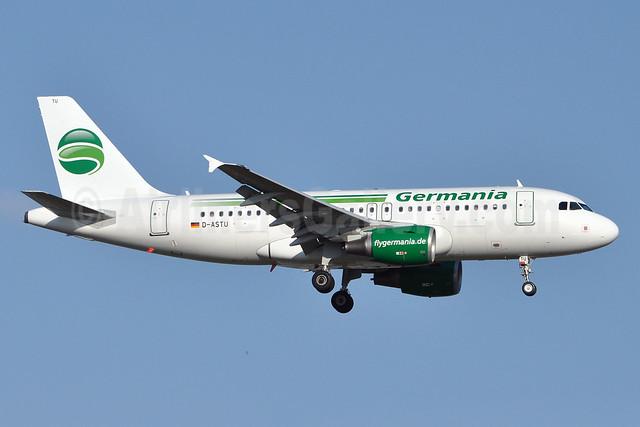 Germania Fluggesellschaft Airbus A319-112 D-ASTU (msn 3533)  AYT (Karl Cornil). Image: 923548.