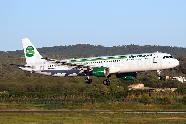 Germania Fluggesellschaft Airbus A321-211 WL D-ASTW (msn 970) PMI (Javier Rodriguez). Image: 942491.