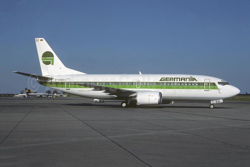 Ex N319UA, delivered April 18, 2005