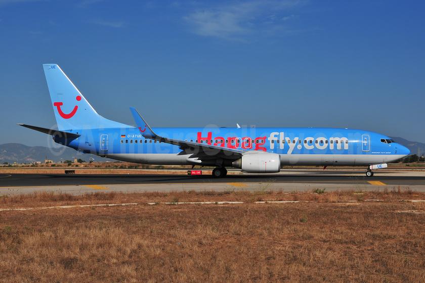 Hapagfly.com Boeing 737-8K5 WL D-ATUE (msn 34686) PMI (Ton Jochems). Image: 953651.