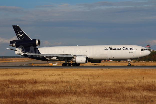 Lufthansa Cargo McDonnell Douglas MD-11F D-ALCB (msn 48782) FRA (Marcelo F. De Biasi). Image: 943189.