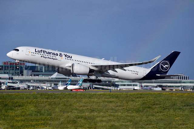 """2021 """"Lufthansa & You"""" and #TogetherAgain titles"""