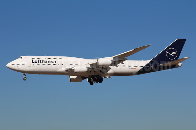 Lufthansa Boeing 747-8 Intercontinental D-ABYA (msn 37827) FRA (Marcelo F. De Biasi). Image: 944222.