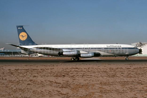 """""""Frankfurt"""" - """"Intercontinental Jet 707"""""""