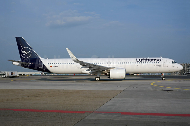 First A321neo, delivered on May 4, 2019