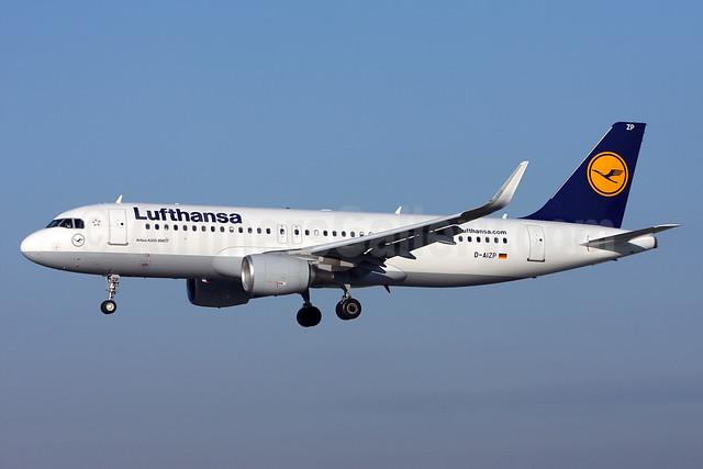 Lufthansa Airbus A320-214 WL D-AIZP (msn 5487) (Sharklets) ZRH (Andi Hiltl). Image: 912052.