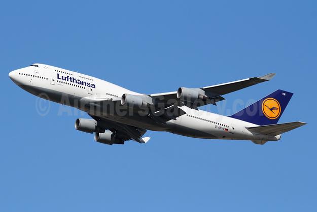 Lufthansa Boeing 747-430 D-ABVR (msn 28285) FRA (Marcelo F. De Biasi). Image: 939653.