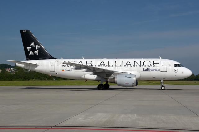 Lufthansa Airbus A319-114 D-AILF (msn 636) (Star Alliance) ZRH (Rolf Wallner). Image: 927603.