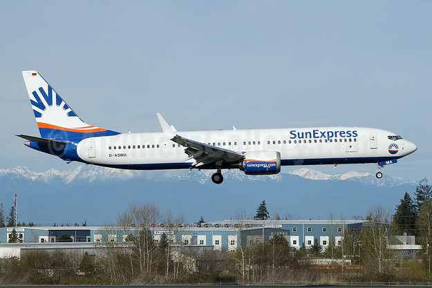 First MAX 9 for SunExpress Germany, not taken up