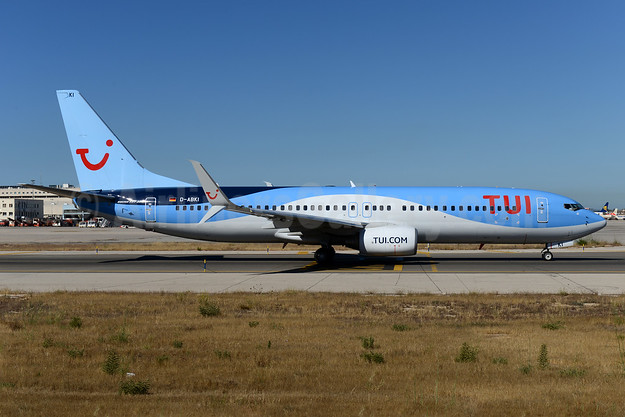 TUI Airlines (Germany) Boeing 737-86J SSWL D-ABKI (msn 37748) PMI (Ton Jochems). Image: 933944.