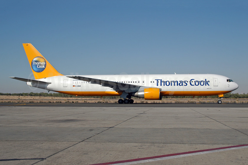 Thomas Cook Airlines (Germany) - Condor Flugdiest Boeing 767-330 ER D-ABUI (msn 26988) SHJ (Ton Jochems). Image: 953491.
