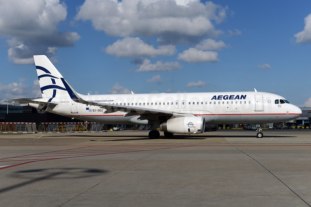 Aegean Airlines Airbus A320-232 WL SX-DGZ (msn 6643) AMS (Ton Jochems). Image: 940937.