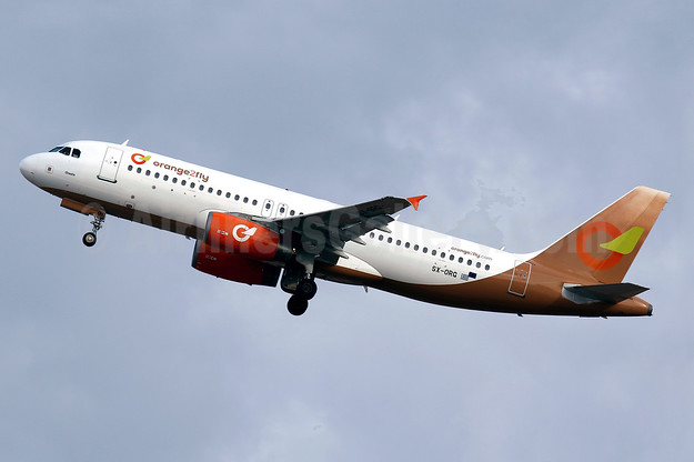 "Greek newcomer Orange2fly Airlines launches operations, named ""Orestis"", delivered on September 12, 2016"