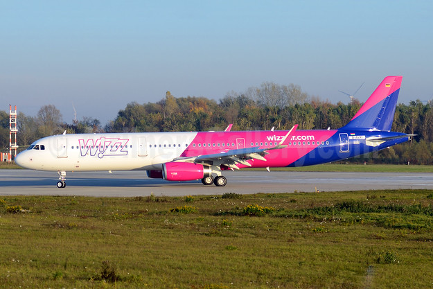 Wizz Air's first Airbus A321