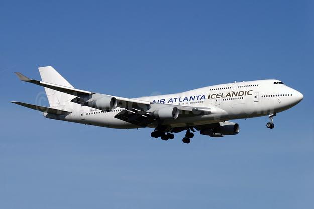 Air Atlanta Icelandic Boeing 747-412 TF-AMI (msn 27066) LGW (Antony J. Best). Image: 928104.