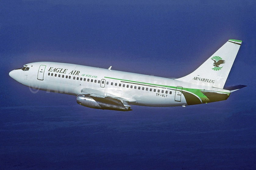 Eagle Air of Iceland - Arnarflug (1st) Boeing 737-205C TF-VLT (msn 20458) (Christian Volpati Collection). Image: 941546.