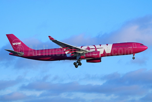 Wow Air Airbus A330-343 TF-GAY (msn 1098) LAX (Michael B. Ing). Image: 933641.
