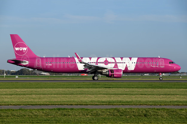 Wow Air Airbus A321-211 WL TF-PRO (msn 7680) AMS (Ton Jochems). Image: 943953.