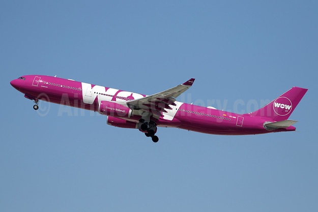 Wow Air Airbus A330-343 EC-MIN (msn 1607) LAX (Ron Monroe). Image: 944276.