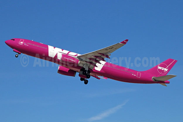 Wow Air Airbus A330-343 TF-GAY (msn 1098) LAX (Michael B. Ing). Image: 935285.