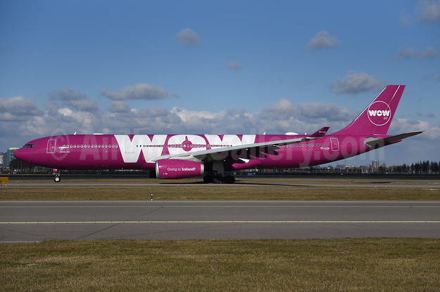 Wow Air Airbus A330-343 TF-LUV (msn 1607)  AMS (Ton Jochems). Image: 941069.
