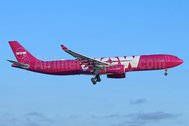 Wow Air Airbus A330-343 TF-WOW (msn 1624) LAX (Michael B. Ing). Image: 943329.