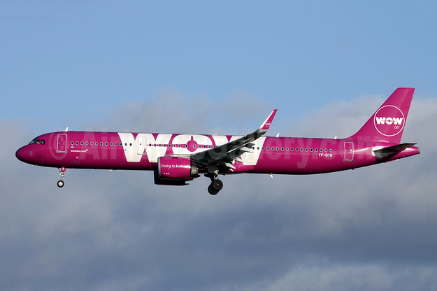 Wow Air Airbus A321-253N WL TF-DTR (msn 8085) LGW (Antony J. Best). Image: 945644.