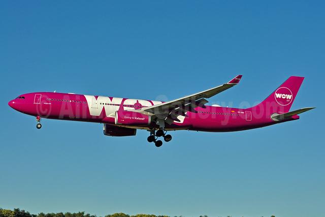 Wow Air's first Airbus A330-300