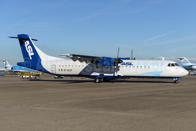 ASL Airlines (Ireland) ATR 72-212 EI-SLP (msn 461) AMS (Ton Jochems). Image: 954213.