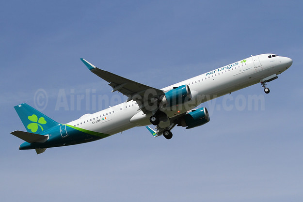 Aer Lingus' first A321neo, delivered on July 26, 2019