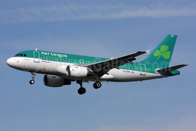 Aer Lingus Airbus A319-111 EI-EPR (msn 3169) LHR (SPA). Image: 925091.