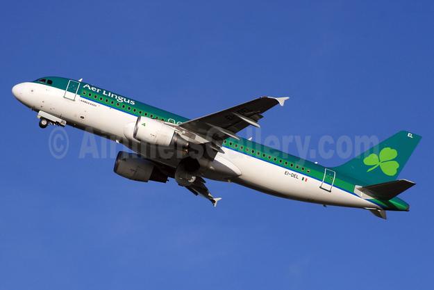 Aer Lingus Airbus A320-214 EI-DEL (msn 2409) LHR (SPA). Image: 932188.