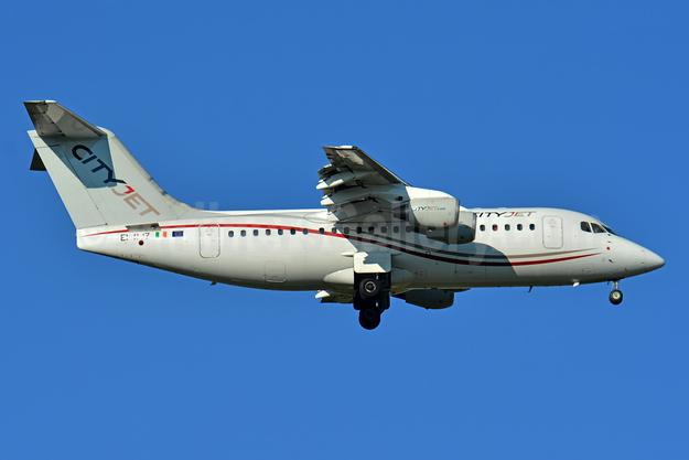 CityJet (Ireland) BAe RJ85 EI-RJZ (msn E2326) BSL (Paul Bannwarth). Image: 943334.